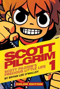 Scott Pilgrim Color Volume 1 Book Cover