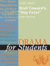 A Study Guide For Noel Cowards Hay Fever