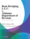 Bean Dredging LLC V Alabama Department Of Revenue