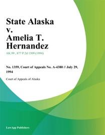 STATE ALASKA V. AMELIA T. HERNANDEZ