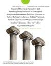 Impact Of Historical-Factualism And Interdisciplinary Research On Conceptual Analyses In International Relations Literature In TurkeyTurkiye Uluslararasi Iliskiler Yazininda Tarihsel Olguculuk Ile Disiplinlerarasiciligin Analitik Yaklasima Etkisi Ve Turkiye Uygulamasi Report