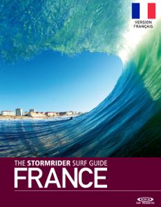 The Stormrider Surf Guide France Second Edition Version Français La couverture du livre martien