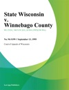 State Wisconsin V Winnebago County