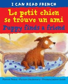 Puppy Finds A Friend Le Petit Chien Se Trouve Un Ami