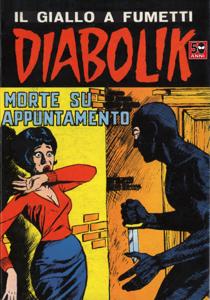DIABOLIK #31 Libro Cover