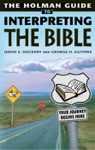 Holman Guide To Interpreting The Bible