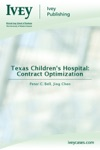 Texas Childrens Hospital Contract Optimization