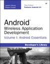 Android Wireless Application Development Volume I Android Essentials 3e