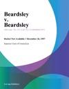 Beardsley V Beardsley