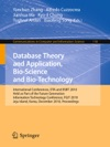 Database Theory And Application Bio-Science And Bio-Technology