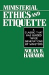 Ministerial Ethics And Etiquette
