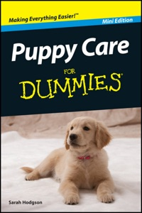 Puppy Care for Dummies Book Cover