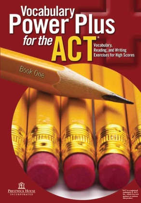 Vocabulary Power Plus for the ACT - Book One image