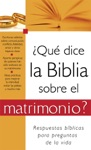 Qu Dice La Biblia Sobre El Matrimonio