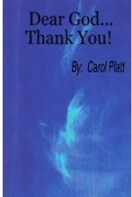 Dear God...Thank You!