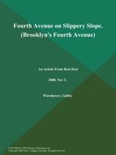 Fourth Avenue on Slippery Slope (Brooklyn's Fourth Avenue)