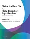 Gates Rubber Co V State Board Of Equalization