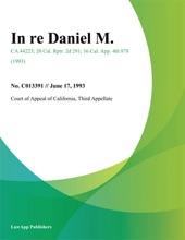 In Re Daniel M.