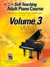Alfreds Self-Teaching Adult Piano Course Volume 3