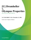 Drumheller V Olympus Properties