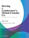 Herring V Lumbermens Mutual Casualty Co