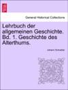 Lehrbuch Der Allgemeinen Geschichte Bd 1 Geschichte Des Alterthums