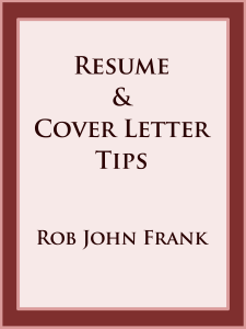 Resume & Cover Letter Tips Book Review