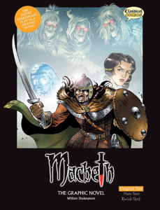 Macbeth the Graphic Novel - Original Text Boekomslag