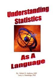 UNDERSTANDING STATISTICS AS A LANGUAGE