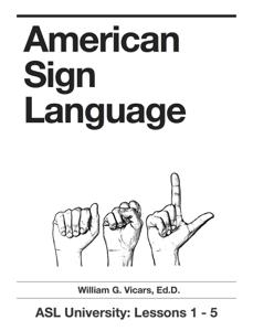 American Sign Language 1 - 5 wiki