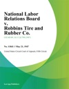 National Labor Relations Board V Robbins Tire And Rubber Co