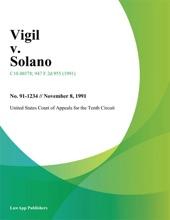 Vigil V. Solano