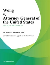 Download Wong V. Attorney General Of The United States