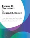 052797 Tammy R Ganzevoort V Richard B Russell
