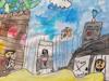 KinderPals, Prince Charles Elementary School, Canada & KC, Yokohama International School, Japan - The Mean Pirates and the Brave Princess artwork