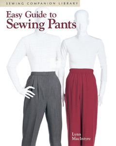 Easy Guide to Sewing Pants Book Cover