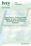 Paediatric Orthopaedic Clinic At The Childrens Hospital Of Western Ontario
