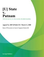 State V. Putnam