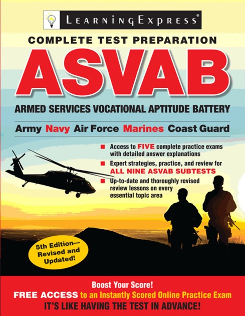 Asvab By Learningexpress Llc On Apple Books