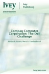 Compaq Computer Corporation The Dell Challenge