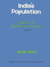 India's Population: Aspects Of Quality And Control - Volume II