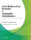 Avis Rent-A-Car Systems V Armando Abrahantes
