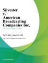 Silvester V American Broadcasting Companies Inc