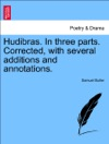 Hudibras In Three Parts Corrected With Several Additions And Annotations Vol I