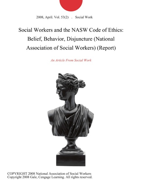 national association of social workers code of ethics 2008