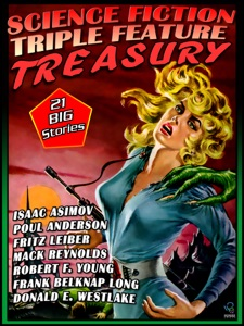 Science Fiction Triple Features Treasury