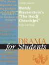 A Study Guide For Wendy Wassersteins The Heidi Chronicles