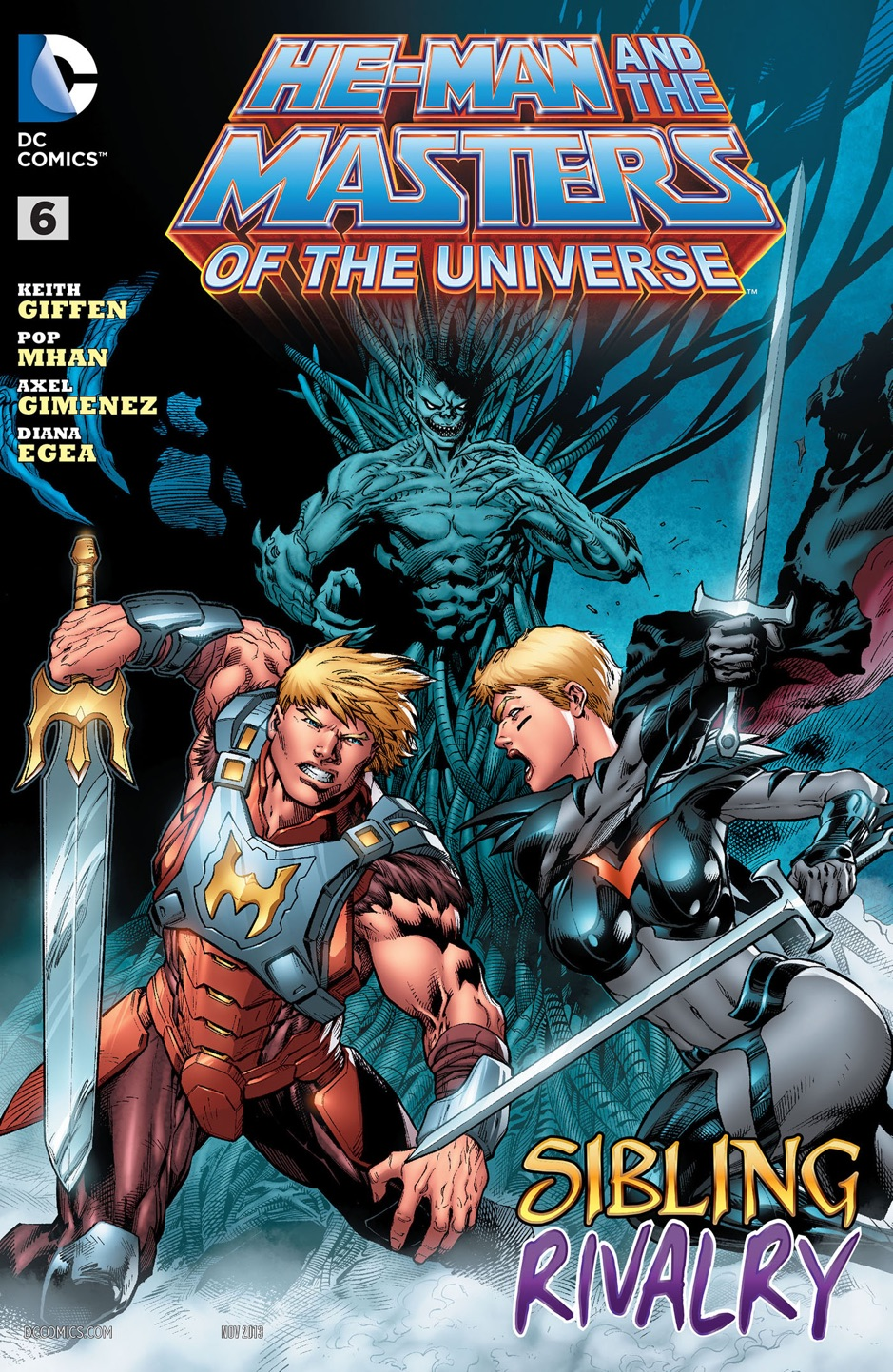 He-Man and the Masters of the Universe (2013- ) #6