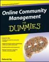 Online Community Management For Dummies