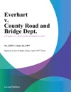 Everhart V County Road And Bridge Dept